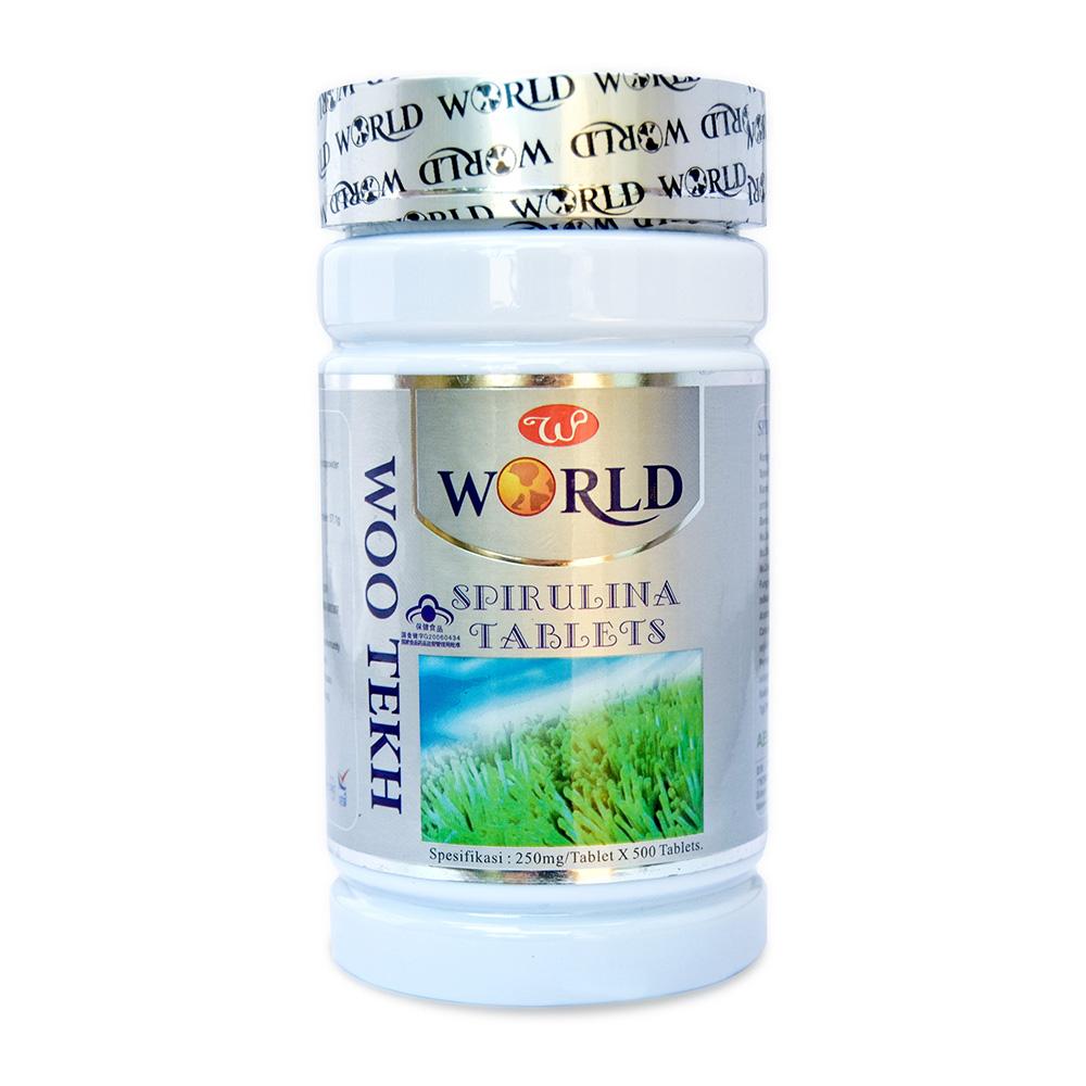 1-spirulina tablets